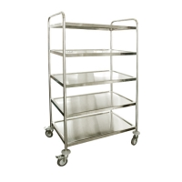 DT-73:รถเข็นสแตนเลส5ชั้น 