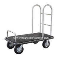 AA-34 : รถเข็นกระเป๋าสแตนเลส