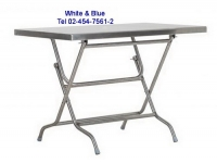ET-13:โต๊ะพับสแตนเลส 